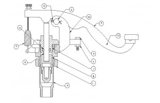 Model X141B Head Valve Assembly